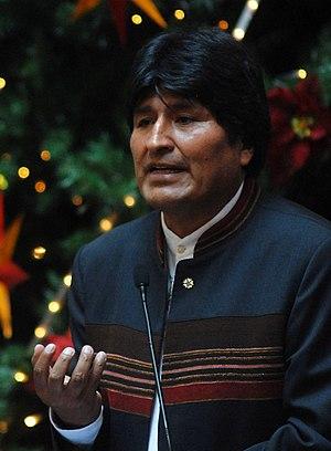 Evo Morales (Aymara), President of Bolivia