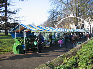 Farmers' Market. The popular monthly farmers' ...