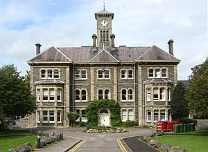 English: The main building of Glenside Hospita...