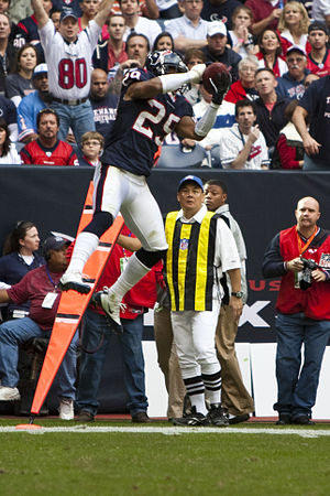 Houston Texans cornerback Kareem Jackson inter...