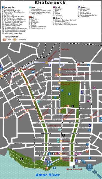 Khabarovsk  Travel guide at Wikivoyage