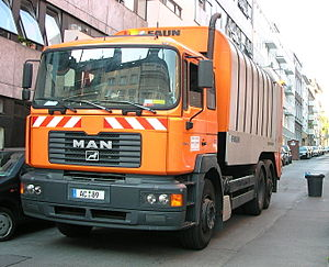 MAN Müllwagen Aachen