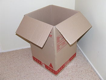 English: A picture of a box.