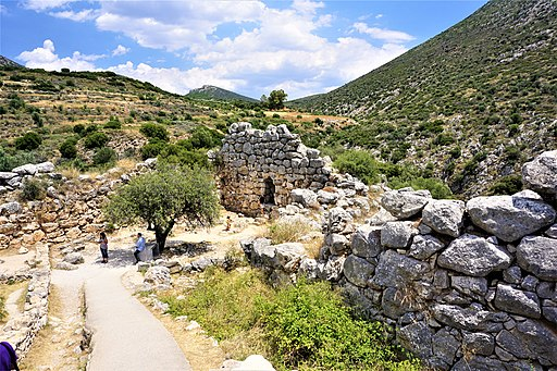 Northeast Extension of the Mycenae Citadel by Joy of Museums