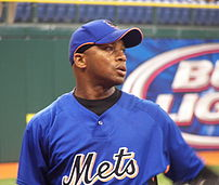 New York Mets pitcher Orlando Hernández before...