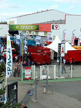 Salon des productions animales  carrefour europen