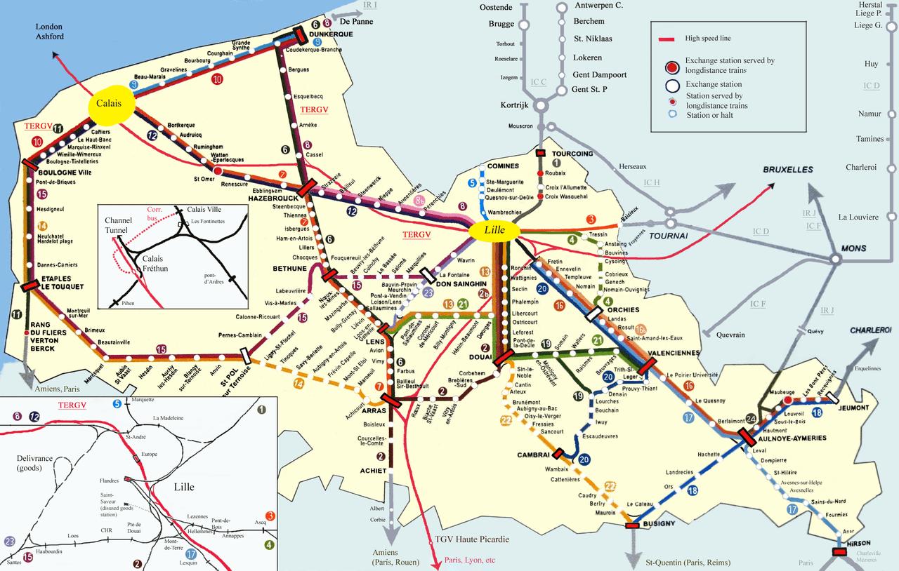 Paris Train Map In English - Paris transit map