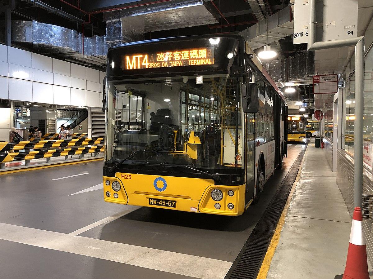 澳門巴士MT4路線 - 維基百科,自由的百科全書