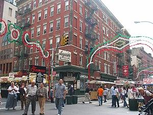 USA san gennaro feast NY