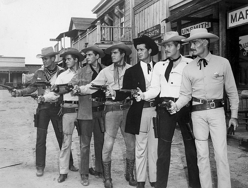 File:Warner Brothers television westerns stars 1959.JPG