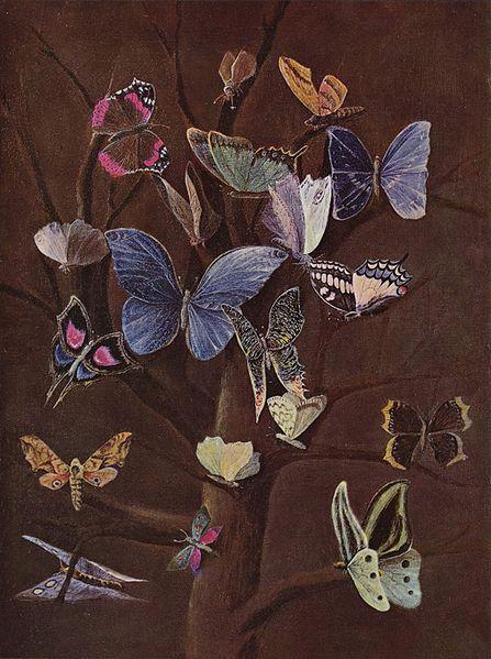 Wilhelm von Kaulbach: Butterflies