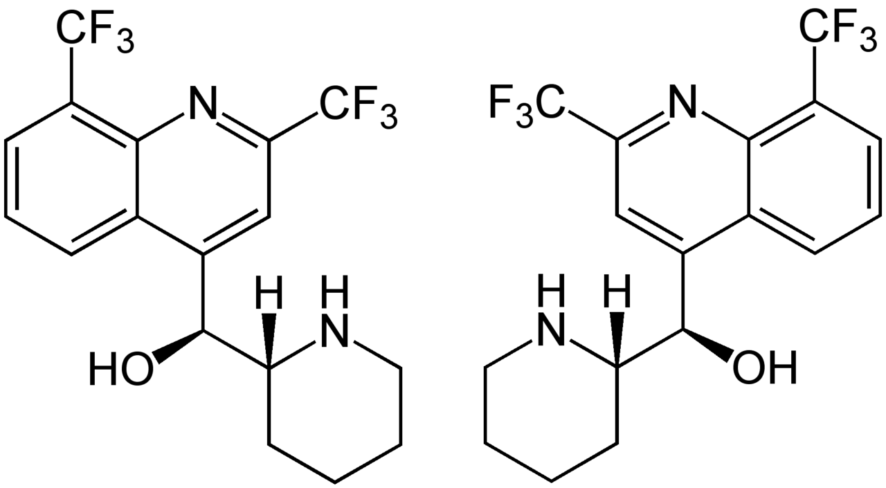 File:(RS,SR)-Mefloquine Structural Formulae.png