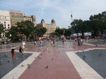Plaza De Catalunya Barcelona