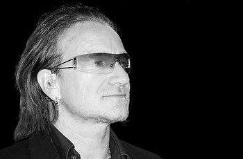 Fauxlivia implies that U2 lead singer Bono is ...