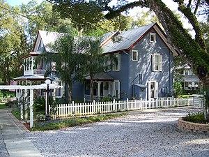 Ann Stevens house, in