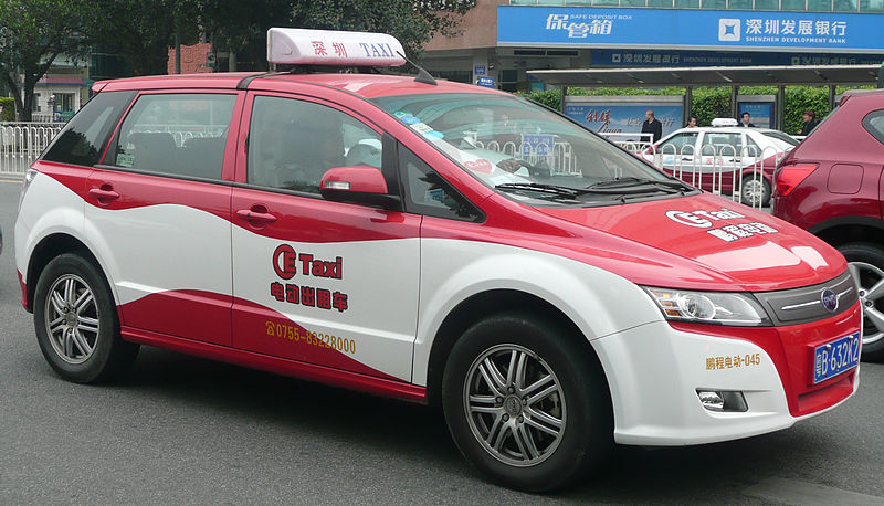 File:BYD Electric Taxi.jpg