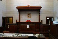 Courtroom in Beechworth, Victoria, Australia