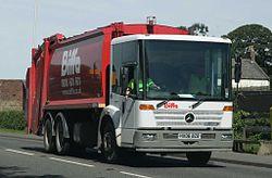垃圾車 - 維基百科,自由的百科全書