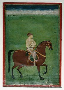 Baj Bahadur of Kumaon ca. 1750.