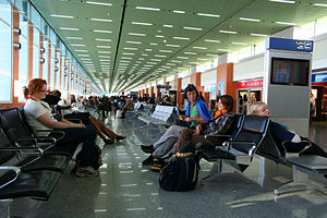 English: Casablanca Mohammed V Airport: The Ca...
