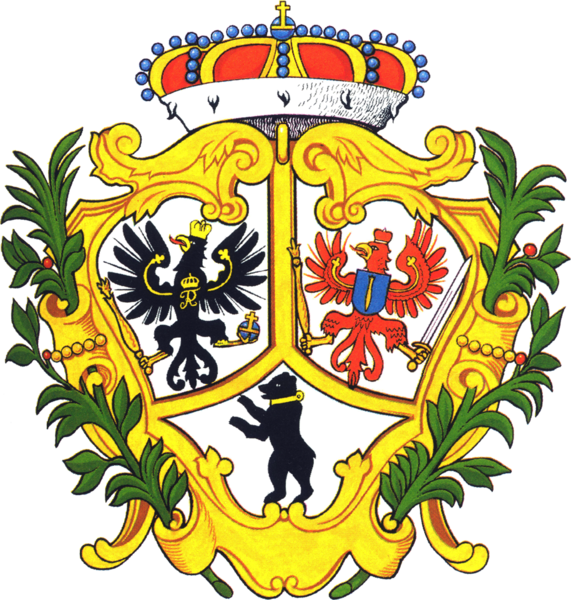 File:Coat of arms Berlin 1709.png