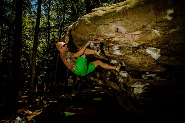 Bouldering Rock Climbing Wall