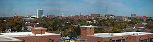 Ann Arbor as seen from the University of Michi...