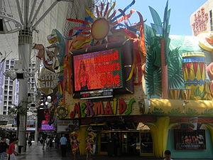 Mermaids Casino on Fremont Street, Downtown La...