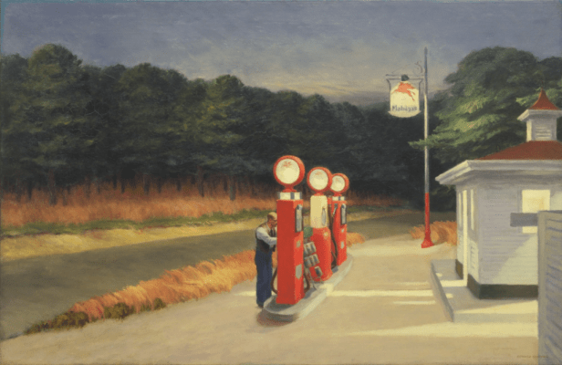 American Realist Paintings by Edward Hopper's
