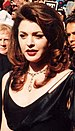 Jane Leeves on the red carpet at the Emmys 9/11/94