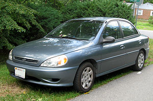 2001-2002 Kia Rio photographed in Fort Washing...