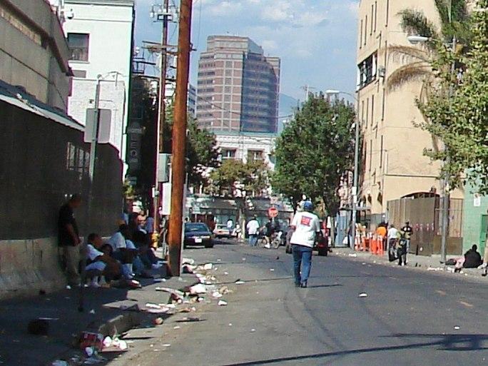 Los Angeles Skid Row