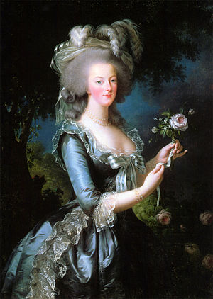 Queen Marie Antoinette of France, daughter of ...