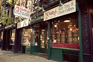 English: McNulty's Tea & Coffee - located on 1...