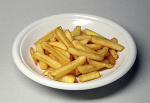 Chips (BE), French fries (AE), French fried po...