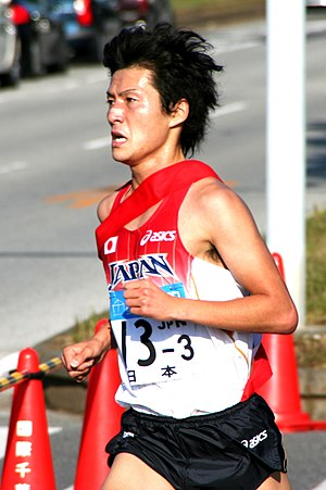 English: Kensuke Takezawa is a Japanese long-d...