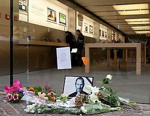 English: Apple Store in Frankfurt (Germany) af...