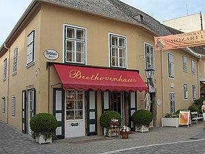 Beethoven house (1821-1823) at the Rathausgass...
