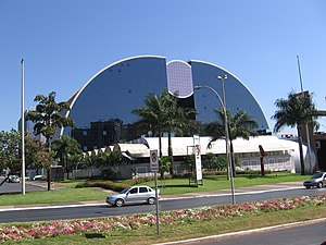 Brasília Shopping, W3 view