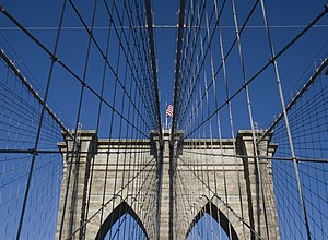 Brooklyn Bridge - detail