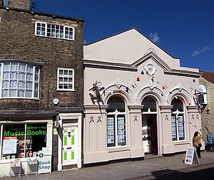 English: Congregational Church, Wrawby Street....