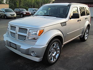 English: A Dodge Nitro R/T photographed in Jam...