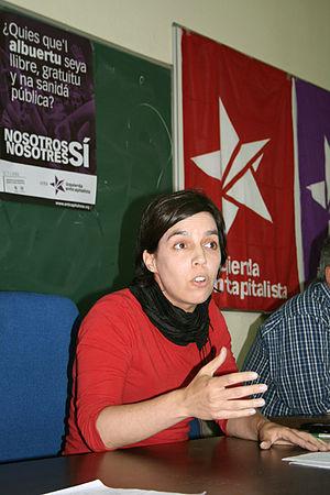 Español: Acto presentación candidatura anticap...