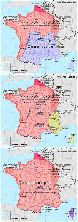 La France Pendant La Seconde Guerre Mondiale : france, pendant, seconde, guerre, mondiale, German, Military, Administration, Occupied, France, During, World, Wikipedia