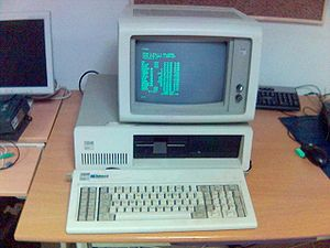 IBM Personal Computer XT front