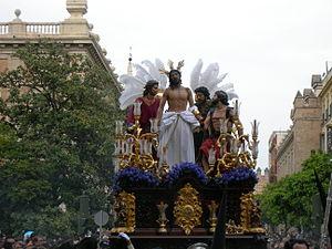 Español: Paso de Nuestro Padre Jesús despojado...