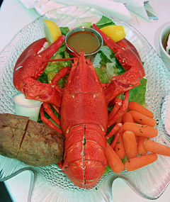 Lobster meal