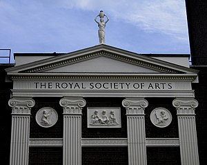 The Royal Society of Arts in London.