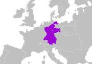 Confederación del Rin en 1812.