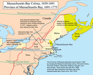 English: This is a map of the Province of Mass...